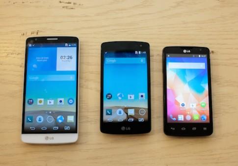 LG ra 3 smartphone mới