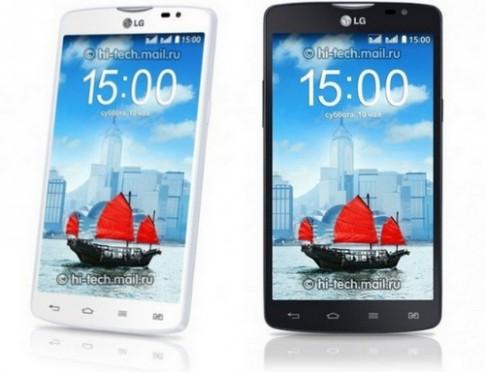 LG ra L80 màn 5 inch tầm trung chạy Android Kitkat