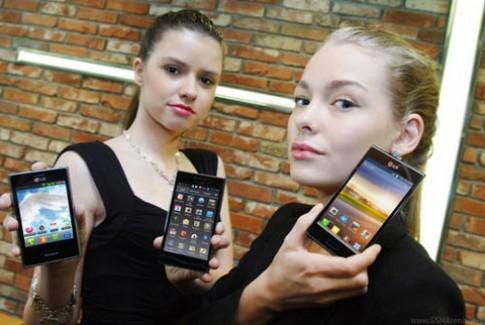 LG ra mắt 3 smartphone dòng Optimus L