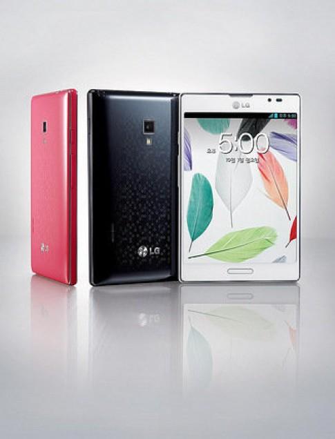 LG ra mắt Optimus Vu II màn hình 5 inch, RAM 2 GB