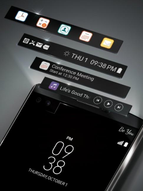 LG ra smartphone Android có hai màn hình cùng một mặt