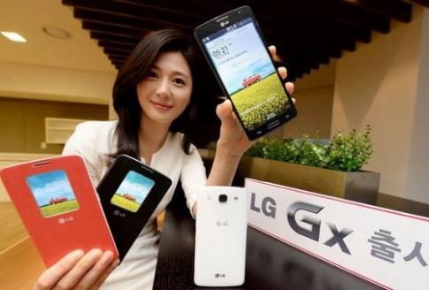 LG ra smartphone Gx màn hình Full HD 5,5 inch