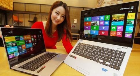 LG ra ultrabook 15,6 inch có ổ đĩa quang