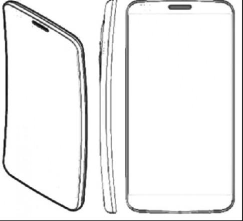 LG sản xuất smartphone với màn hình cong