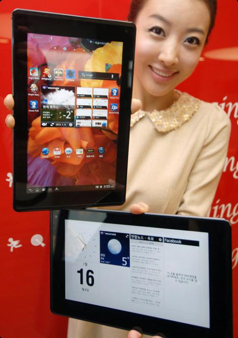 LG sắp ra tablet màn hình siêu nét, hỗ trợ gọi điện