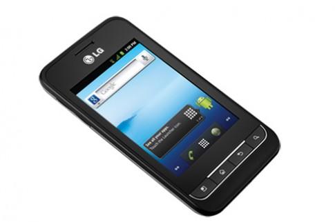 LG trình làng Optimus 2 giá rẻ