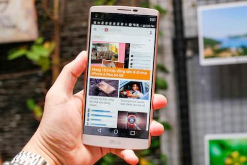 LG V10 về Việt Nam, giá 16 triệu đồng