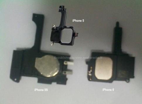 Linh kiện được cho là iPhone 5S và iPhone 6 xuất hiện