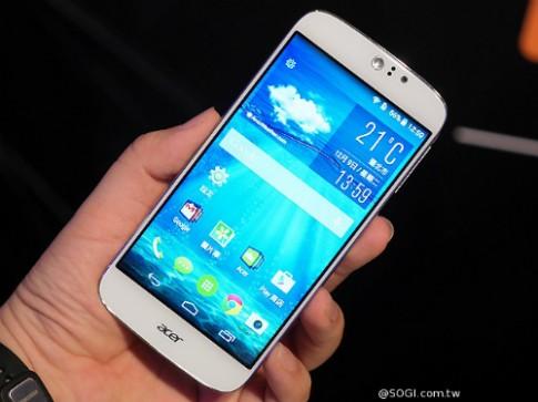 Liquid Jade S sẽ là điện thoại 64-bit đầu tiên của Acer