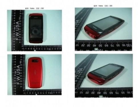 Lộ ảnh 2 điện thoại cảm ứng mới của Nokia