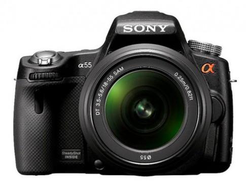 Lộ ảnh bộ đôi DSLR mới của Sony