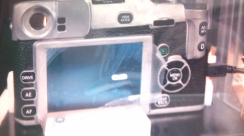 Lộ ảnh Fujifilm LX bản thay đổi ống kính