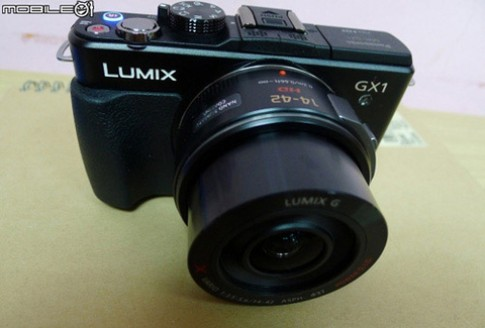 Lộ ảnh GX1, máy MFT mới của Panasonic