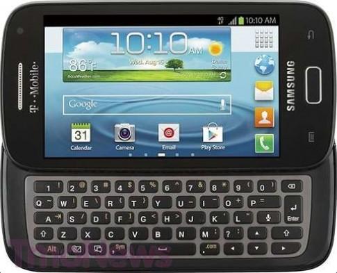 Lộ ảnh Samsung Galaxy S Blaze Q với bàn phím QWERTY