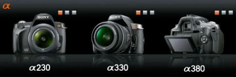 Lộ ba máy ảnh DSLR Sony Alpha