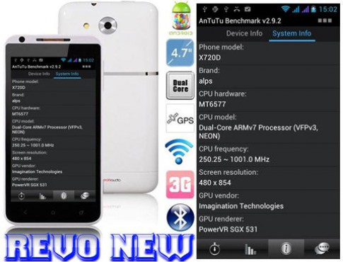 Lộ diện smartphone Revo New