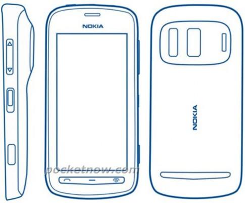 Lộ hình Nokia 803 trong tờ hướng dẫn sử dụng