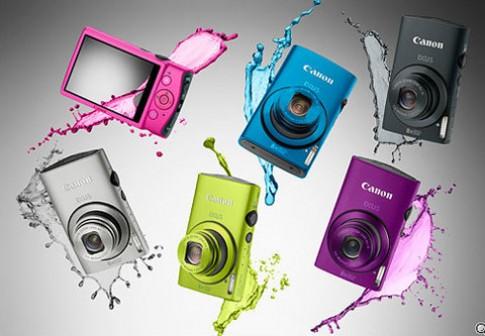 Loạt máy Canon thời trang mới ra mắt
