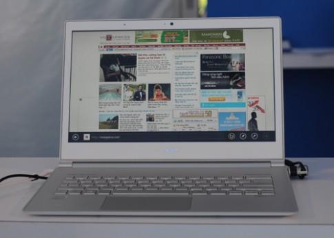 Loạt máy tính ra mắt cùng Windows 8