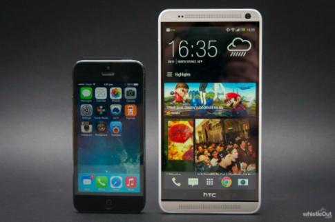 Loạt smartphone giá mềm, màn hình lớn cạnh tranh cùng iPhone 6 Plus