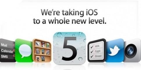 Lỗi khi nâng cấp iOS 5 có thể do server của Apple quá tải