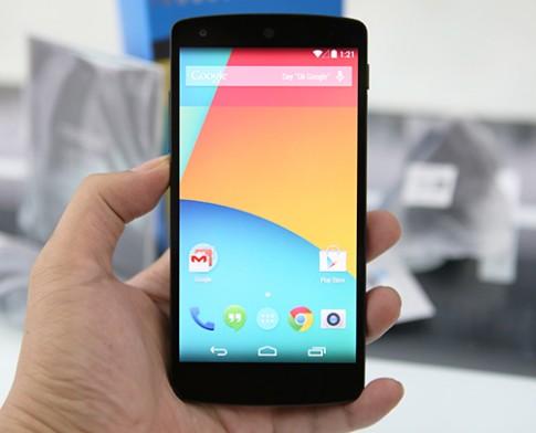 Lỗi tin nhắn SMS có thể khiến Google Nexus bị khởi động lại