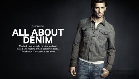 Lookbook thời trang đậm chất denim từ H