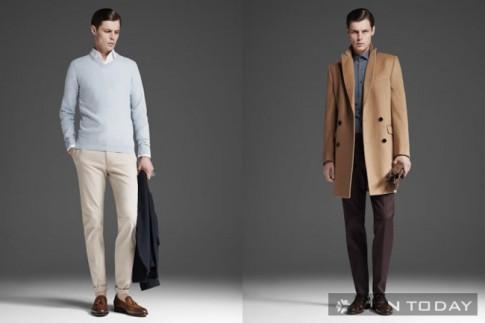 Lookbook thời trang nam thu đông 2013 của Reiss