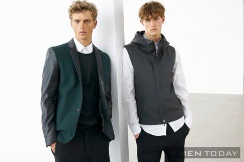 Lookbook thời trang nam thu đông 2013 của Zara