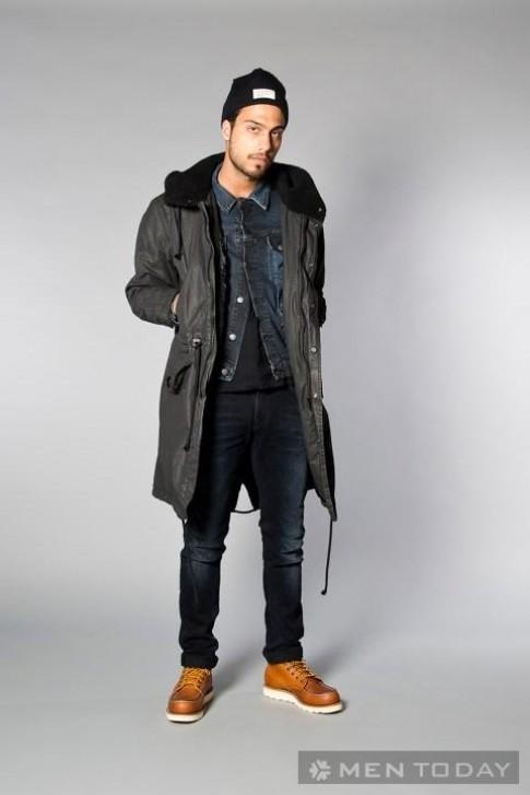 Lookbook thời trang nam thu đông 2013 đậm chất denim từ Nudie Jeans