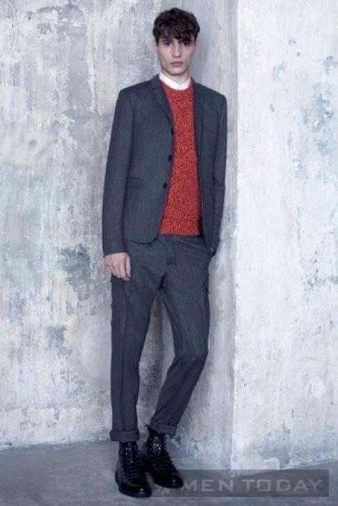 Lookbook thời trang nam thu đông 2013 từ Dior Homme