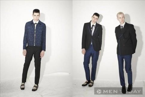 Lookbook thời trang nam thu đông 2013 từ Marc Jacobs