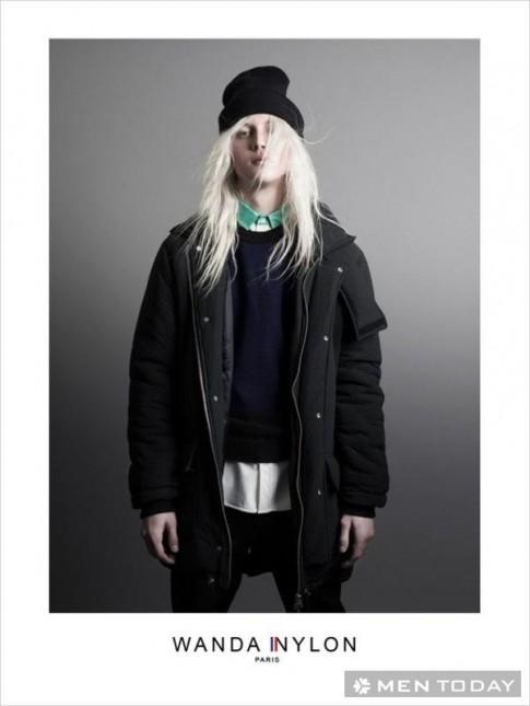 Lookbook thời trang nam thu đông 2014 của Wanda Nylon