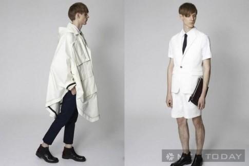 Lookbook thời trang nam xuân hè 2013 độc đáo từ Marni