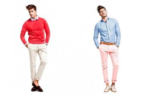 Lookbook thời trang nam xuân hè 2013 màu sắc từ El Burgués