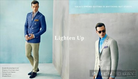 Lookbook thời trang nam xuân hè 2014 của Barneys New York