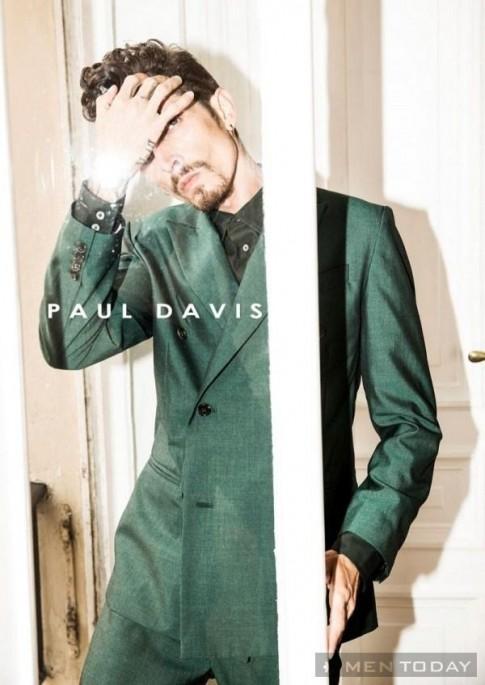 Lookbook thời trang nam xuân hè 2014 của Paul Davis