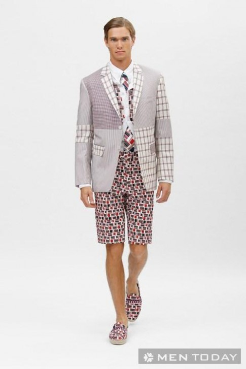 Lookbook thời trang nam xuân hè 2014 từ Brooks Brothers