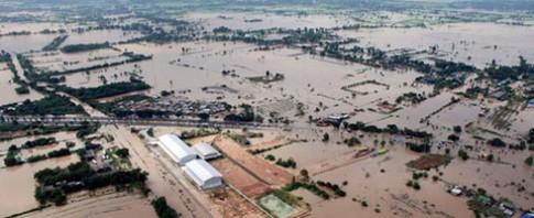 Lũ lụt ở Thái Lan ảnh hưởng tới nguồn cung HDD