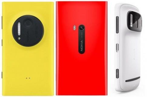Lumia 1020 so sánh với Lumia 920 và 808 PureView