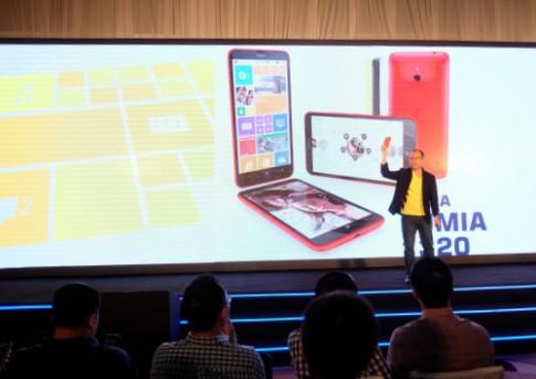 Lumia 1320 sẽ được bán ở Việt Nam đầu năm tới