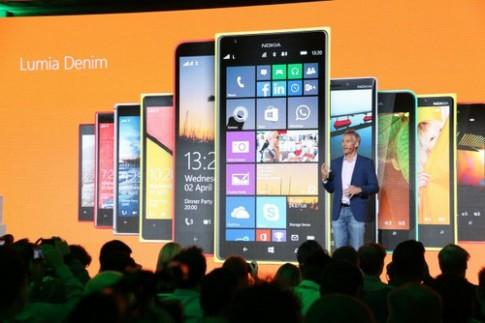 Lumia 1520, 930 và 830 sắp được cập nhật Lumia Denim