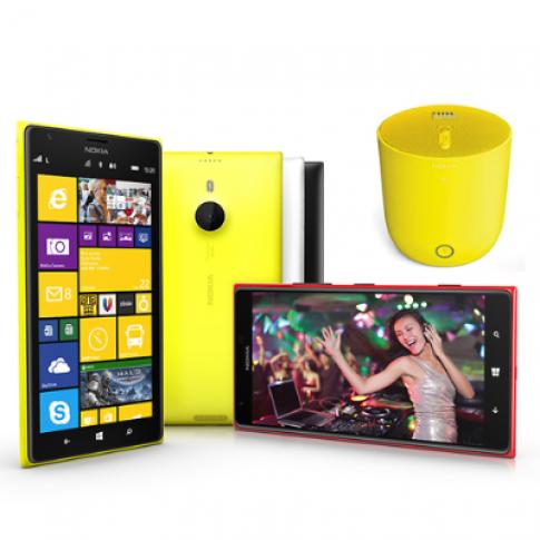 Lumia 1520 ra mắt với phụ kiện âm thanh độc đáo JBL Playup