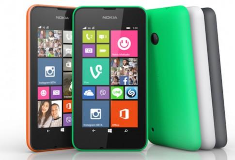 Lumia 530 trình làng, giá khoảng 2,5 triệu đồng