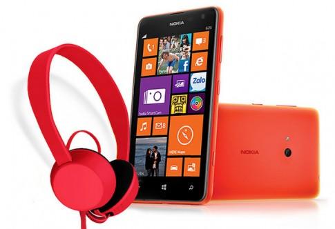 Lumia 625 màn hình 4,7 inch giá chưa đến 6 triệu đồng ở VN