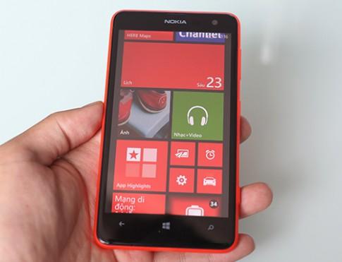 Lumia 625 - smartphone có màn hình lớn nhất của Nokia tại Việt Nam