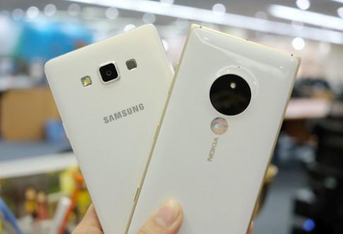 Lumia 830 đọ camera với Galaxy A7