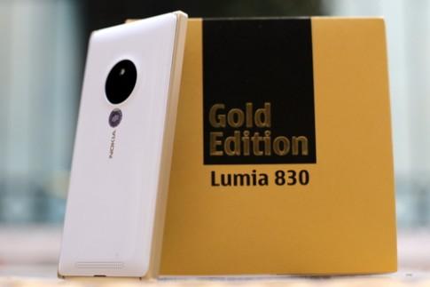 Lumia 830 phiên bản vàng có giá 7,99 triệu đồng