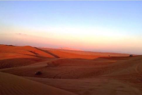 Lumia 920 thử quay clip chống rung trên sa mạc
