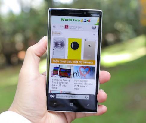 Lumia 930 về Việt Nam tháng sau, giá 13 triệu đồng